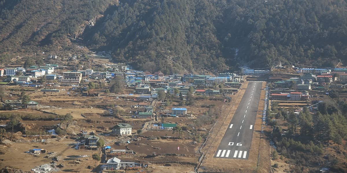 Facts about Lukla airport